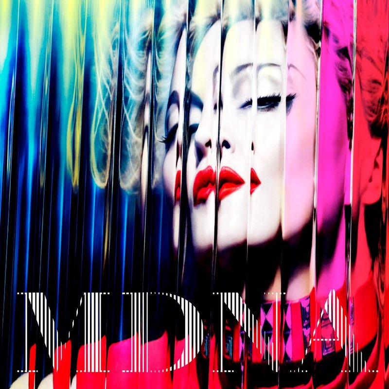 "Music Bite: Madonna Reveals Album Art for ""MDNA"" 