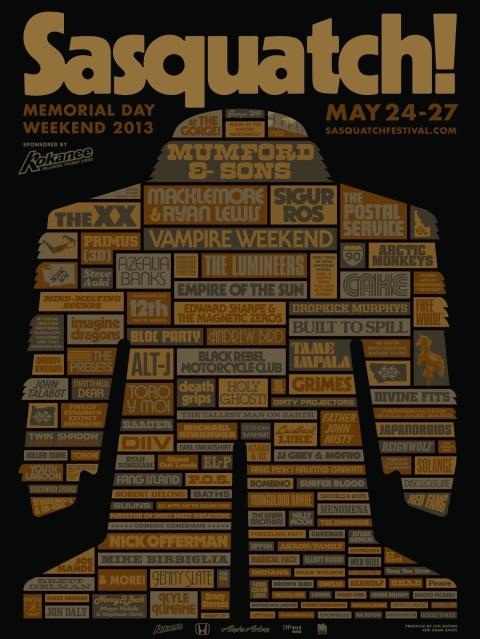 sasquatch-2013-poster